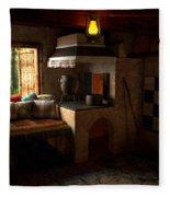 Rustic Cabin Fleece Blanket