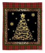 Rustic Christmas-jp3697 Fleece Blanket