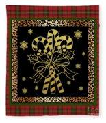 Rustic Christmas-jp3698 Fleece Blanket