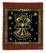 Rustic Christmas-jp3703 Fleece Blanket