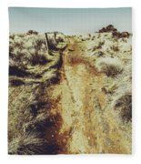 Rustic Country Trails Fleece Blanket