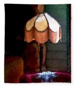 Rustic Elegance Fleece Blanket