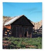 Rustic In Colorado Fleece Blanket