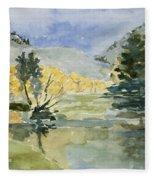 Rustic Reflections Fleece Blanket