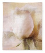 Rustic Rose Fleece Blanket