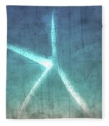Rustic Starfish Fleece Blanket