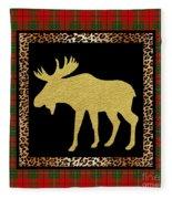 Rustic Woodland-jp3685 Fleece Blanket