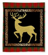 Rustic Woodland-jp3686 Fleece Blanket