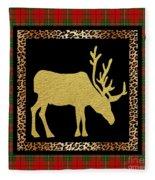 Rustic Woodland-jp3687 Fleece Blanket