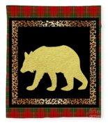 Rustic Woodland-jp3688 Fleece Blanket