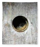 Rusty Hole Fleece Blanket