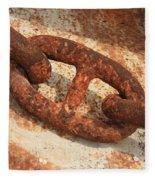 Rusty Links 1 Fleece Blanket