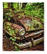 Rusty Plymouth Fleece Blanket