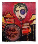 Ryan Macmillan And His Drums Fleece Blanket