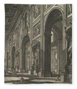 S. Giovanni In Laterano. Interior Fleece Blanket