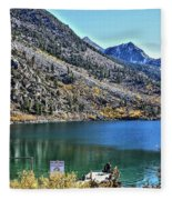 Sabrina Lake California Fleece Blanket