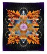 Sacred Geometry 701 Fleece Blanket