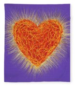 Sacred Heart Fleece Blanket