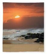 Sacred Journeys Song Of The Sea Fleece Blanket