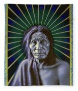 Sacred Native Fleece Blanket