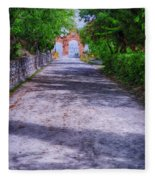 Sacromonte Abbey Entrance Fleece Blanket