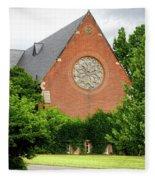 Sage Chapel Cornell University Ithaca New York 02 Fleece Blanket