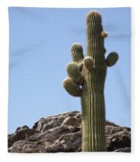 Saguaro 1 Fleece Blanket