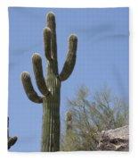 Saguaro 6 Fleece Blanket