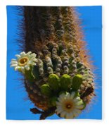 Saguaro Elephant Trunk Fleece Blanket