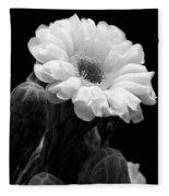 Saguaro First Bloom Fleece Blanket
