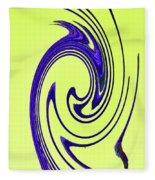 Saguaro Spines Abstract Fleece Blanket