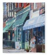 Sahadis Atlantic Avenue Brooklyn Fleece Blanket