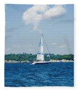 Sail1 Fleece Blanket