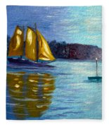 Sailboat-  Sailing- Come Sail Away Fleece Blanket