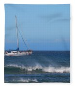 Sailing And Sunshine Fleece Blanket