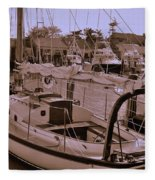 Sailing Anyone Fleece Blanket