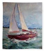 Sailing Away Fleece Blanket
