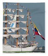 Sailing By The Battery Fleece Blanket