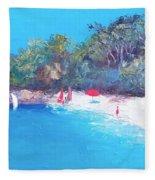 Sailing Day Fleece Blanket