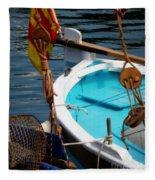 Sailing Dories 1 Fleece Blanket