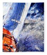 Sailing Souls Fleece Blanket