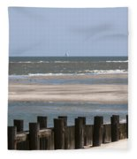 Sailing The Atlantic Fleece Blanket