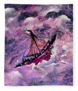 Sailing The Heavens Fleece Blanket