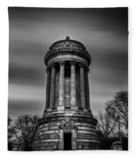 Sailors And Soldiers Monument Fleece Blanket