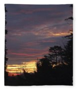 Sailors Take Warning Fleece Blanket