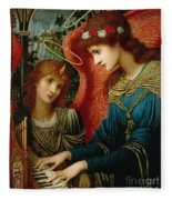 Saint Cecilia Fleece Blanket