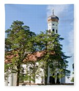 Saint Coloman Church 3 Fleece Blanket