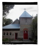 Saint Cyprians Episcopal Church Fleece Blanket