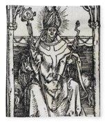 Saint Erasmus Fleece Blanket