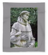 Saint Francis Fleece Blanket